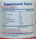 Fish oil label
